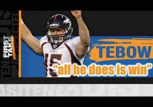 Tim Tebow – All He Does Is Win